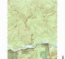 Maine USGS Historical Map Gilead 105159 1995 24000 by wetdryvac