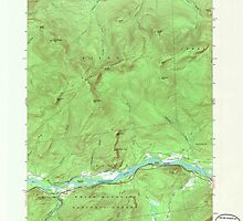 Maine USGS Historical Map Gilead 806718 1970 24000 by wetdryvac