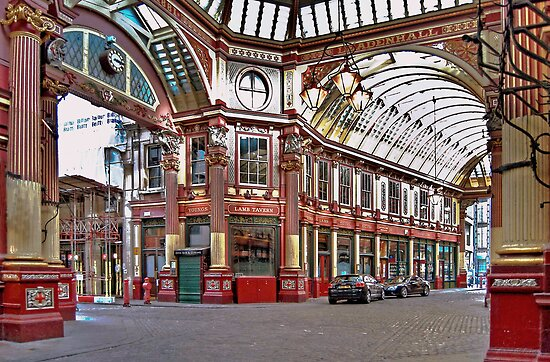 Lamb Tavern, Leadenhall Market by Karen Martin IPA