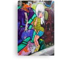 Melbourne Graffiti Metal Print