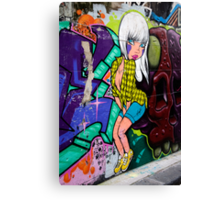 Melbourne Graffiti Canvas Print