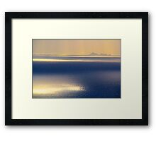 Islands in the Sun Framed Print