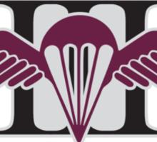 3 RAR Royal Australian Regiment Battalion Wings silver Anzac 2015 Sticker