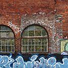 Brick Wall by Peter Kurdulija