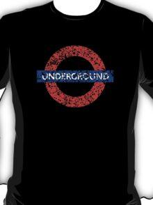 Grunge Underground Logo T-Shirt