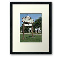 The Avon Motel on Historic Route 66 Framed Print