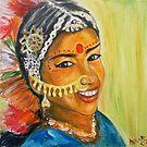 Indian Girl by Lydia Cafarella