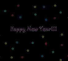 Happy New Year 2 by Jennifer  Tate