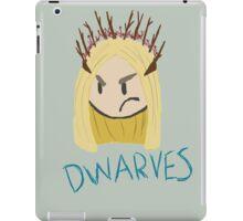 Thranduil: D W A R V E S iPad Case/Skin