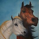 Horse Lovers by patrick trotter