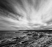 Point Ellen in Black and White by AllshotsImaging