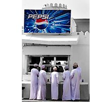 The Pepsi Stand Photographic Print