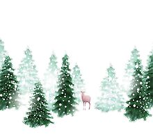 Christmas Background by Olga Altunina
