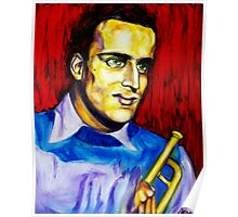 Portrait of Boris Vian Poster