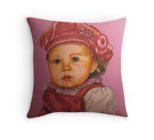 'Savannah'...A Little People Portrait Throw Pillow