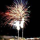 Fireworks Geelong Show 2008 II by Allen Gray