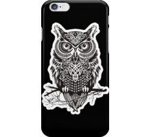 THE BLACK OWL iPhone Case/Skin