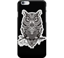THE BLACK OWL iPhone Case/Skin