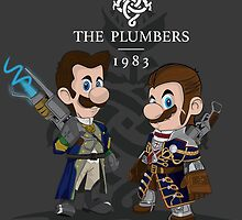 The Plumbers by GualdaTrazos