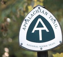 Appalachian Trail sign #1 by Angus Russell