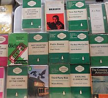 Books - green by Robin Clark