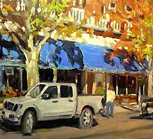 ON GOV'T STREET by Brian Simons