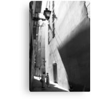 Barcelona - Gossip Canvas Print