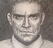 Take That's Robbie Williams by BamseyArt