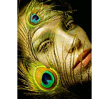 Lady Peacock Photographic Print
