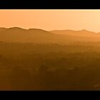 Shropshire Hills Sundown by Mike Ashton