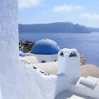 White and Blue by Lila Alias
