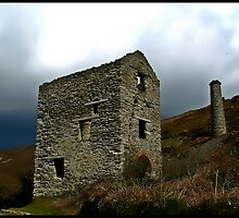 Engine House Ruins of a Cornish Tin Mine. by mrcoradour