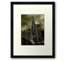 St Mary of the Angels - Standing Against Satan #2 Framed Print