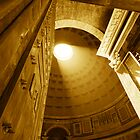 Pantheon Sepia by LeeMartinImages