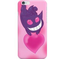 A Ghostly Valentine iPhone Case/Skin