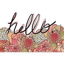 Hello. Photographic Print