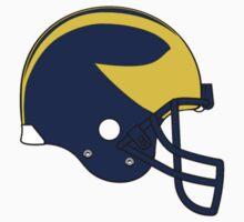 Michigan Winged Helmet by hergie10