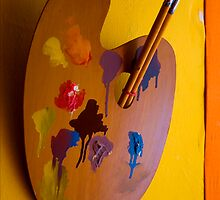 Paint and Brush by Aurobindo Saha