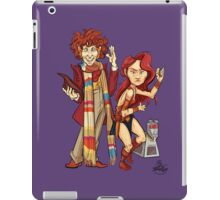 The Doctor, The Warrior, and K-9 iPad Case/Skin