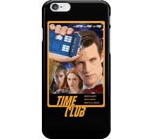 Time Club   Doctor Who   The Eleventh Doctor & Amy Pond & Rory Pond iPhone Case/Skin