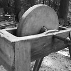 The old grinding wheel by megrag53