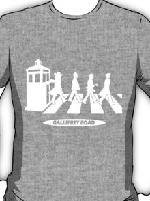 Gallifrey Road T-Shirt