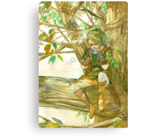 Peaceful Link Canvas Print