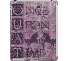 Once Upon a Time (OUAT) - Royal Purple Evil Regal Unicorn Horse Equine iPad Case/Skin