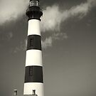 Bodie Island Lighthouse (Mono) by Nikki Trexel