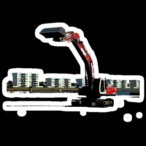 bulldozer by Yuval Fogelson