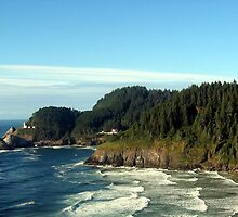 Heceta Head Lighthouse State Park by Chuck Gardner