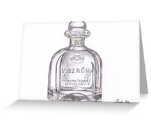 Patron Tequila Bottle T-Shirt Greeting Card