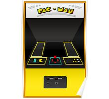 Pac-Man Arcade Cabinet Poster