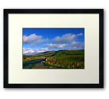 The Road to the Dales Framed Print
